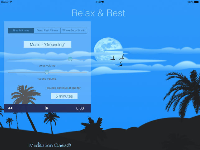 Relax and Rest Meditation