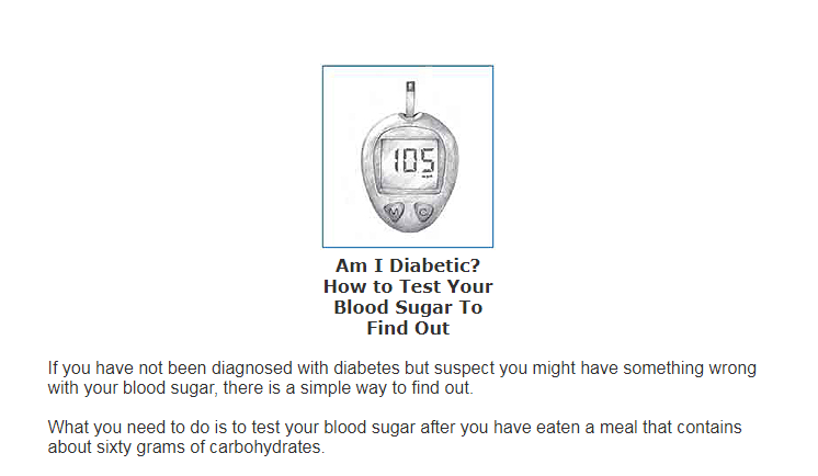Blood Sugar 101